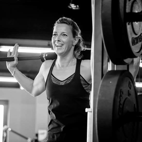 Rachel, zakenvrouw traint bij 3sixty5 personal training
